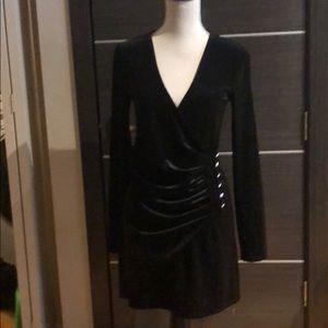 Velvet black forever21 dress